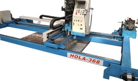 HOLA Rail Type Drilling Machine